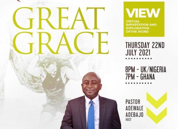 V.I.E.W | GREAT GRACE