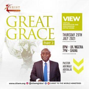 GREAT GRACE (PT 2)