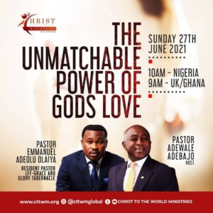 THE UNMATCHABLE POWER OF GOD'S LOVE
